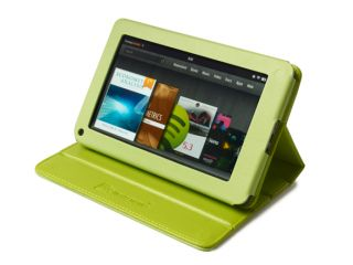 MEElectronics LthC KindleF Portfolio Leatherette Stand Case for Kindle