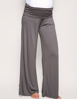 ASOS MATERNITY Exclusive Roll Down Palazzo Wide Leg Trousers