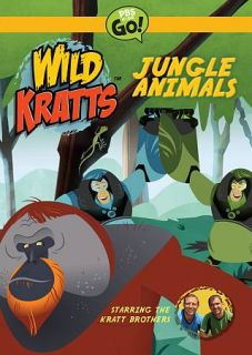 Wild Kratts Jungle Animals DVD, 2012