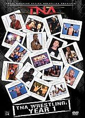 TNA Wrestling   The History of TNA   1 Year DVD, 2007