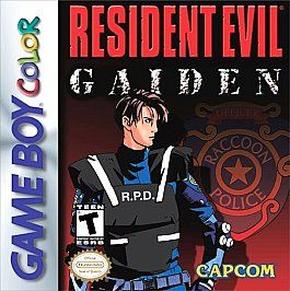 Resident Evil Gaiden Nintendo Game Boy Color, 2002