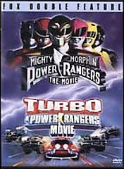 Mighty Morphin Power Rangers The Movie Turbo A Power Rangers Movie DVD