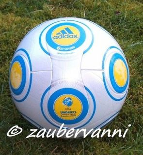 TERRAPASS U 21 CHAMPIONSHIP 2009 SWEDEN OFFICIAL MATCH BALL SOCCER