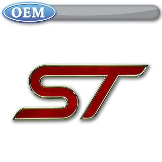 new oem 2013 ford focus st tailgate emblem badge logo
