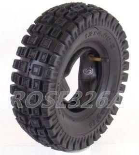 .00 5 Tire W/ Inner Tube For Honda Z50 QA50 Mini Bike 12 x 4.00   5