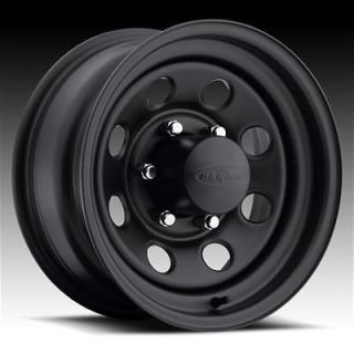 044 Series Stealth Crawler Black Steel Wheels 15x14 5x5 BC Set of 2