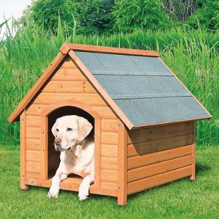 Outdoor Wooden Large Pet Dog House Animal Home Kennel Weatherproof