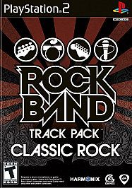 Rock Band Track Pack Classic Rock Sony PlayStation 2, 2009