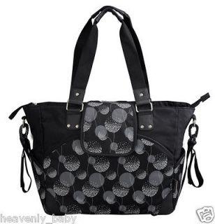 Baby Ladies Boy Girl Large Changing Mat Nappy Diaper Buggy Bag Black