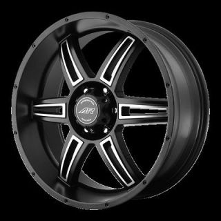 Black Wheels Rims Jeep Wrangler Cherokee Ford Ranger 5x4.5 Lug AR890