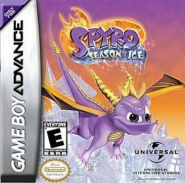 Spyro the Dragon Season of Ice Nintendo Game Boy Advance, 2001