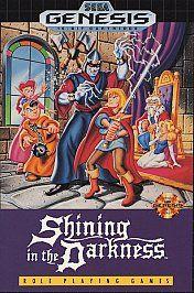 Shining in the Darkness Sega Genesis, 1991