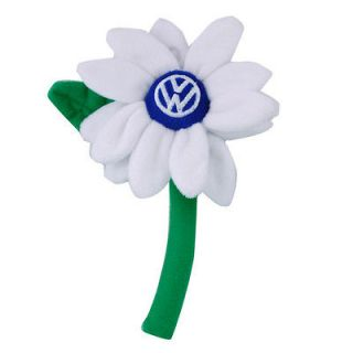 genuine vw volkswagen driver gear white daisy flower time left