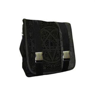 Classic Heartagram Logo Messenger Bag / Satchel   New