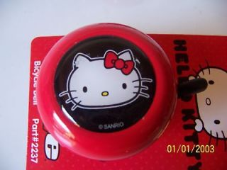 bicycle custom bell hello kitty red cute cruiser new time