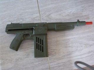 machine gun noises