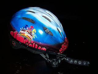Power Rangers Dino Thunder Childrens Bicycle Helmet Used
