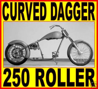 Newly listed USA 250 PRO STREET RIGID CHOPPER ROLLING CHASSIS HARLEY