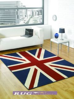 large union jack blue red white carpet rug 120x 160cm getting ready