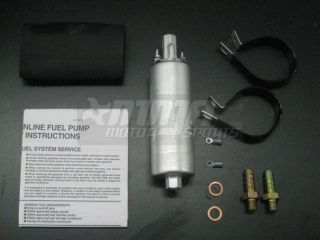 walbro gsl392 universal inline 255lph fuel pump and kit selling