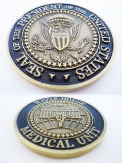 President of the United States White House Medical Unit Challenge Coin