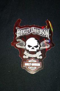 Harley Davidson Snake & Skull stickers, motorcycle helmet decal