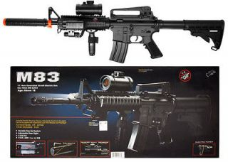 Double Eagle M83 M4 M16 Airsoft Electric Assault Rifle M4A1 AEG Semi