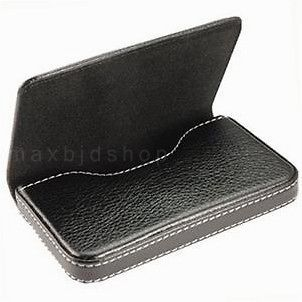 Leather Business Credit ID Card Holder Case Wallet Mens Accessory C08