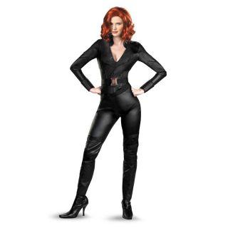 Black Widow The Avengers Adult Women Deluxe Costume Size 12 14