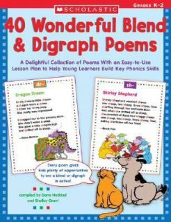 40 Wonderful Blend and Digraph Poems A Delightful Collection of Poems