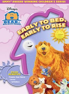 Bear in the Big Blue House   Early to Bed, Early to Rise DVD, 2005