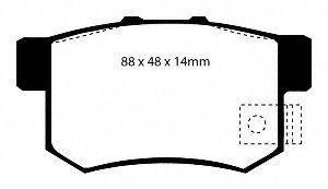 EBC Brake DP3781 2C Disc Brake Pad