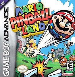 Mario Pinball Land Nintendo Game Boy Advance, 2004