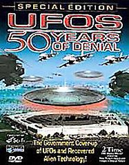 UFOs 50 Years of Denial DVD, 2005, Special Expanded Edition