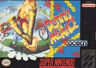 Dennis The Menace Super Nintendo, 1993