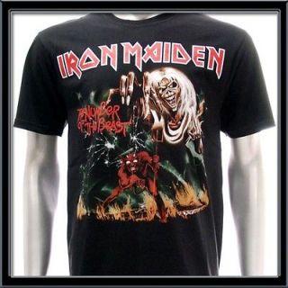 Newly listed Sz L Iron Maiden T shirt Hard Metal Rock The A Matter Of