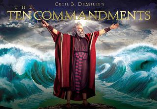 The Ten Commandments Gift Set Blu ray Disc, 2011, 6 Disc Set