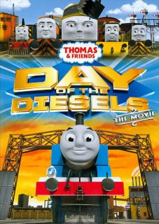 Thomas Friends Day of the Diesels DVD, 2011
