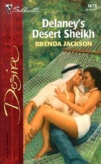 Delaneys Desert Sheikh by Brenda Jackson 2002, Paperback