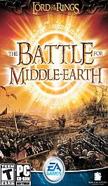 he Lord of he Rings he Bale for Middle earh PC, 2004