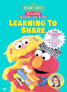 Sesame Street   Learning To Share (DVD, 2003) (DVD, 2003)