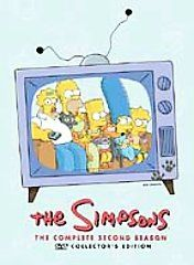 The Simpsons   The Complete Second Season DVD, 2004, 4 Disc Set