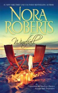 Windfall Impulse Temptation by Nora Roberts 2009, Paperback