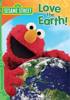 Sesame Street Love the Earth (DVD, 201