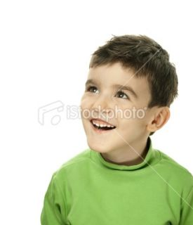 Cute little boy ing up  Stock Photo  iStock