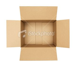 stock photo 9095569 open cardboard box