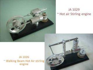 Walking Beam + Hot air Stirling engine (2 sets) ~ stirlingmotor, Free