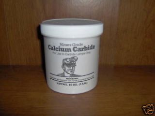 Newly listed CALCIUM CARBIDE ONE POUND FOR MINERS CARBIDE LAMPS!