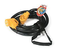 camco 55194 50 amp 15 rv power grip extension cord