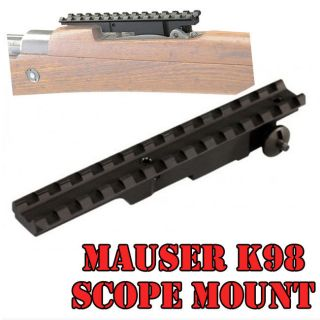 Mauser K98 Weaver Scope Mount FITS MOST MAUSER K98 RIFLES ALSO FIT FOR